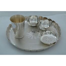 Lotus Design Dinner Set