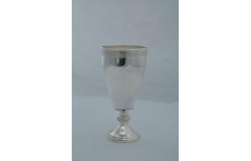 Wine Glass Dull Polish