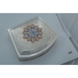 Wavey Design with Flower Mukhvas Box