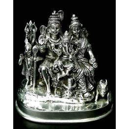 Shiv Parivar Antique Murti Big